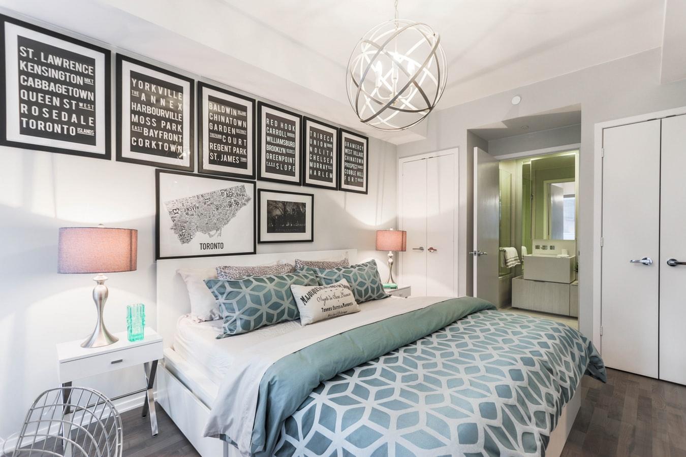 Lad lækkert sengelinned dekorere dit soveværelse